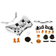 Banggood Chrome Silver Ful​l Shell Case For Xbox 360 Game Controller Mod Kit Orange