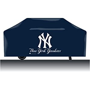 New York Yankees MLB Barbeque Grill Cover by JR Sports