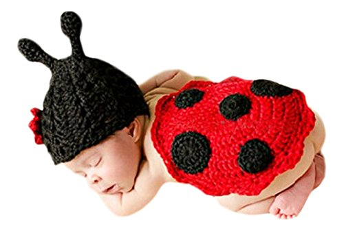 Ace Halloween Toddlers Infant Cute Ladybug Animal Costumes
