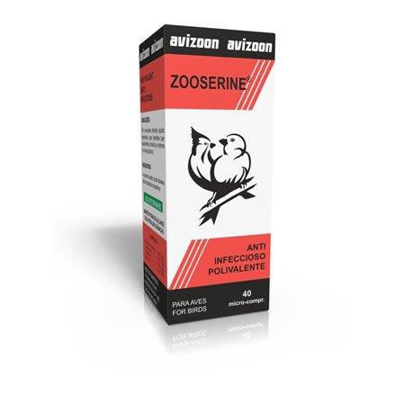 Buy Low Price Zooserine 40 Anti Bacterial Micro Pills for Birds (AVI-40)