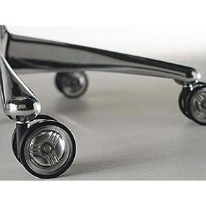 "CS-65 Laminate Hardwood Floor Twin Wheel Casters 2.5"" Diameter 5"