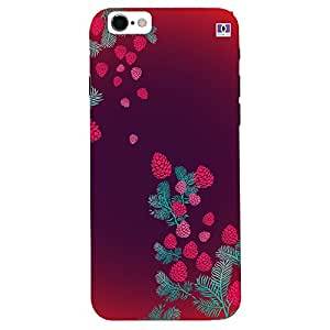 Red & Pink Design - Mobile Back Case Cover For Apple Iphone 7