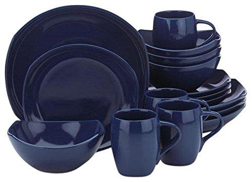 Dansk Classic Fjord 16-Piece Set, Nordic Blue
