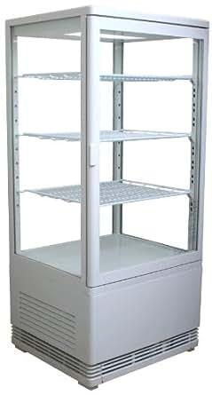 4面ガラス卓上冷蔵ショーケース◆RT-78L◆