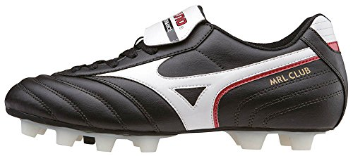 MizunoMrl Club Md - Scarpe da Calcio uomo, Nero (Black (Black/White/Red)), 42 1/2