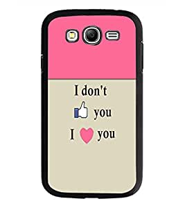 PrintDhaba Quote D-5967 Back Case Cover for SAMSUNG GALAXY GRAND NEO PLUS (Multi-Coloured)