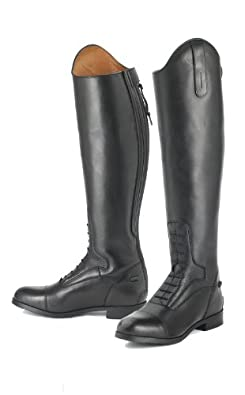 Ovation Flex Sport Field Boots - Kids - Size:4 Slim Tall Color:Black