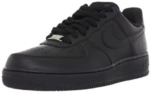 NIKE - AIR FORCE 1 07 - Taille 42,5 - 315122 001 - Chaussures Basket-Ball Homme Noirs