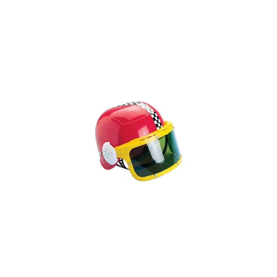 Child Costume Accessory Race Car Racing Helmet & Visor
