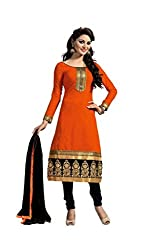 LUXURIA ARTS Womens Cotton Salwar Dress Material_FENTA01_Multi-Coloured.