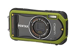 Pentax Optio W90 12.1 MP Waterproof Digital Camera with 5x Wide Angle Zoom and 2.7-Inch LCD (Pistachio Green)