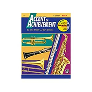 Accent on Achievement, Book 1- Combined Percussion - Bk+CD