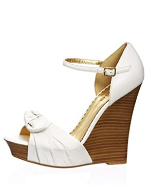 bebe.com : St. Barts Strappy Sandal :  wedges bebe shoes sandals
