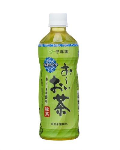 伊藤園 冷凍ボトル おーいお茶 緑茶 485ml×24本