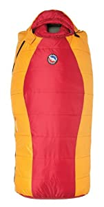 Big Agnes Little Red 15 Right Sleeping Bag Red Yellow by Big Agnes