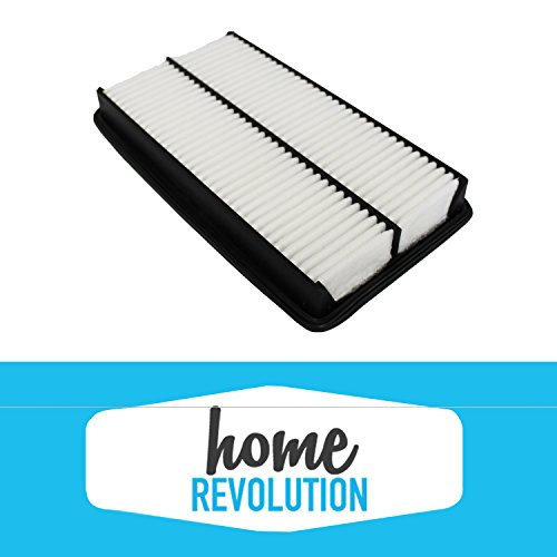 Cabin Rigid Air Panel Filter Compare to CA10013 & A25651; Home Revolution Brand Replacement Made to Fit Acura Truck MDX, Honda Truck Odyssey & More