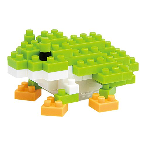 Kawada NBC-007 Kawada Nano Block Mini Figure - Tree Frog (NBC-007) Building Kit