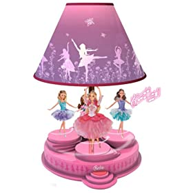 Barbie: Animated Table / Desk Lamp