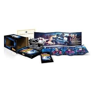 Coffret Trilogie Retour Vers Le Futur - Edition Collector Limitée Avec Réplique Voiture Delorean [Blu-ray] [Import belge]