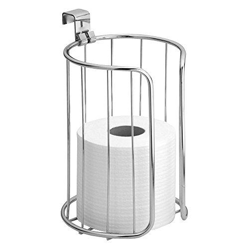 69050EU Classico Senkrechter WC-Rollenhalter zum Hängen über den Spülkasten 2, chrom