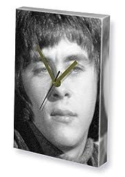 RICHARD BECKINSALE - Canvas Clock (A4 - Signed by the Artist) #js001