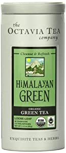 Octavia Tea Himalayan Green (Organic And Fair Trade) Loose Tea , 2.12 Ounce Tins from Octavia Tea