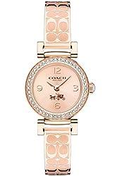 COACH Women's Madison Fashion Bangle Watch Rose Gold/Rose Gold Watch