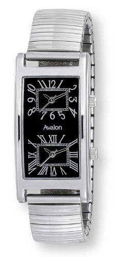 Avalon Unisex World Traveler 2 Time Zone Watch # 7090-4FS1