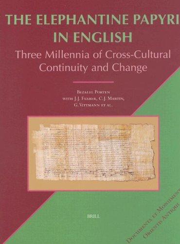 The Elephantine Papyri in English (Documenta Et Monumenta Orientis Antiqui, Vol 22) PDF