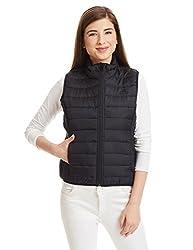 adidas Women's Down Casual Jacket (AJ1601_Black_XS)