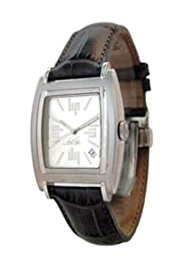 Lip - 1850142 - Montre Homme - Quartz analogique - Fred Silver - Bracelet en cuir noir