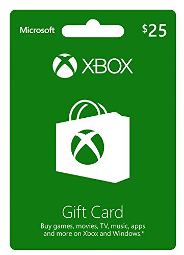 Xbox $25 Gift Card (Windows Gift Card compare prices)