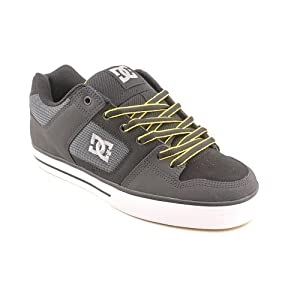 DC Men's Pure Skate Shoe, Graphite - 7.5 D Mens