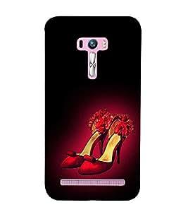 Beautiful Red Heels 3D Hard Polycarbonate Designer Back Case Cover for Asus Zenfone Selfie ZD551KL