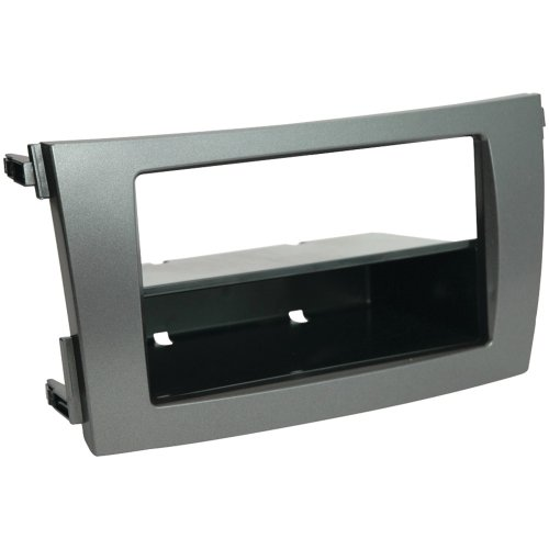 Scosche Dash Kit for 2009 Toyota Corolla Double Din or Din with Pocket (Dark Grey)