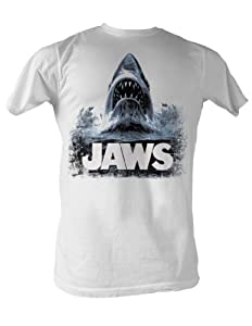 Jaws - Water Mens T-Shirt In White