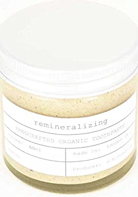Organic Coconut Oil Toothpaste, Healing Ginger & Lime 250 Ml
