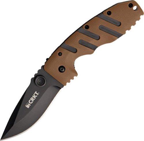 Crkt Columbia River Pocket Folder Ryan Model 7 Lawks Deset Zytel Knife 6803Dz