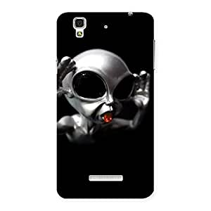Funny Scare. Back Case Cover for Yu Yureka