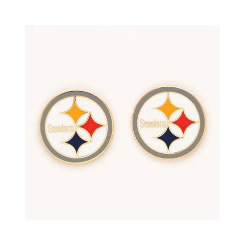 "Pittsburgh Steelers Official NFL 3/4"" Earrings by Wincraft from Wincraft"