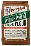 Bob's Red Mill, Organic, Whole Wheat Flour, 48 oz (1.35 kg)