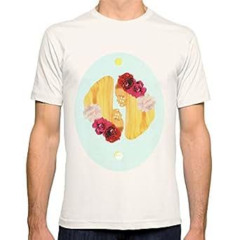 Amazon.com: Society6 Men's Selene And Eos T-Shirt 2X-Large Natural