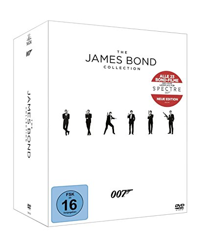 The James Bond Collection (inkl. Leerplatz für Spectre) [23 DVDs]