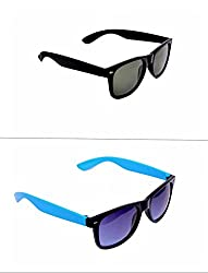 Redix cool combo 2 in 1 trendy wayfarer sunglasses for mens and womens