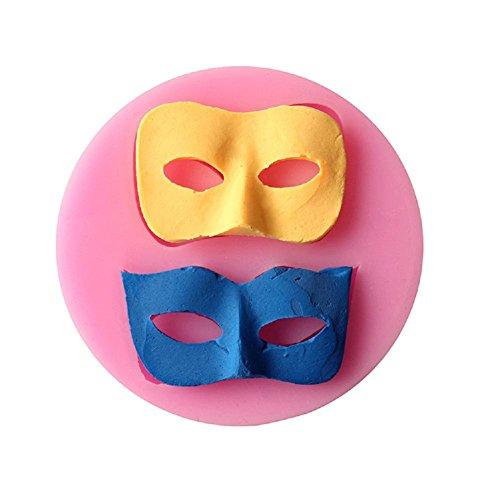 YYH Maître des novices DIY cuisson outils 2 masque grenouille liquide gâteau fondant au moule moule en plastique non toxique pain/cookie moule