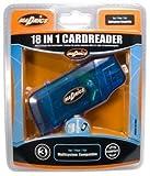 echange, troc Madrics - Lecteur de cartes Mémoire USB 2.0 : 18 en 1 - Compatibilité MS SD