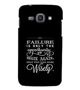 EPICCASE Begin Again Mobile Back Case Cover For Samsung Galaxy Ace 3 (Designer Case)