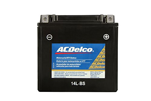 Acdelco Atx14Lbs Specialty Powersports Agm Jis 14L-Bs Battery