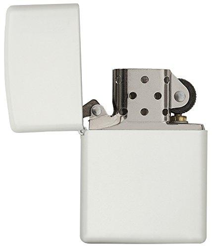 Zippo Reg White Matte Lighter