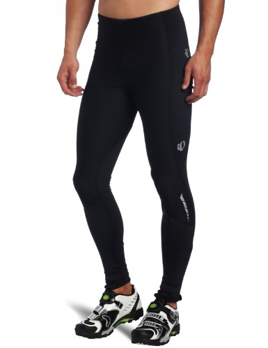 Pearl Izumi Men's Elite Therm Barrier Cycling Tight, Black/ Black, Medium